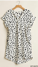 Load image into Gallery viewer, Khloe Dalmatian Dress-Off White