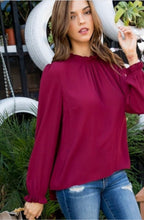 Load image into Gallery viewer, Kerissa Top-Burgundy