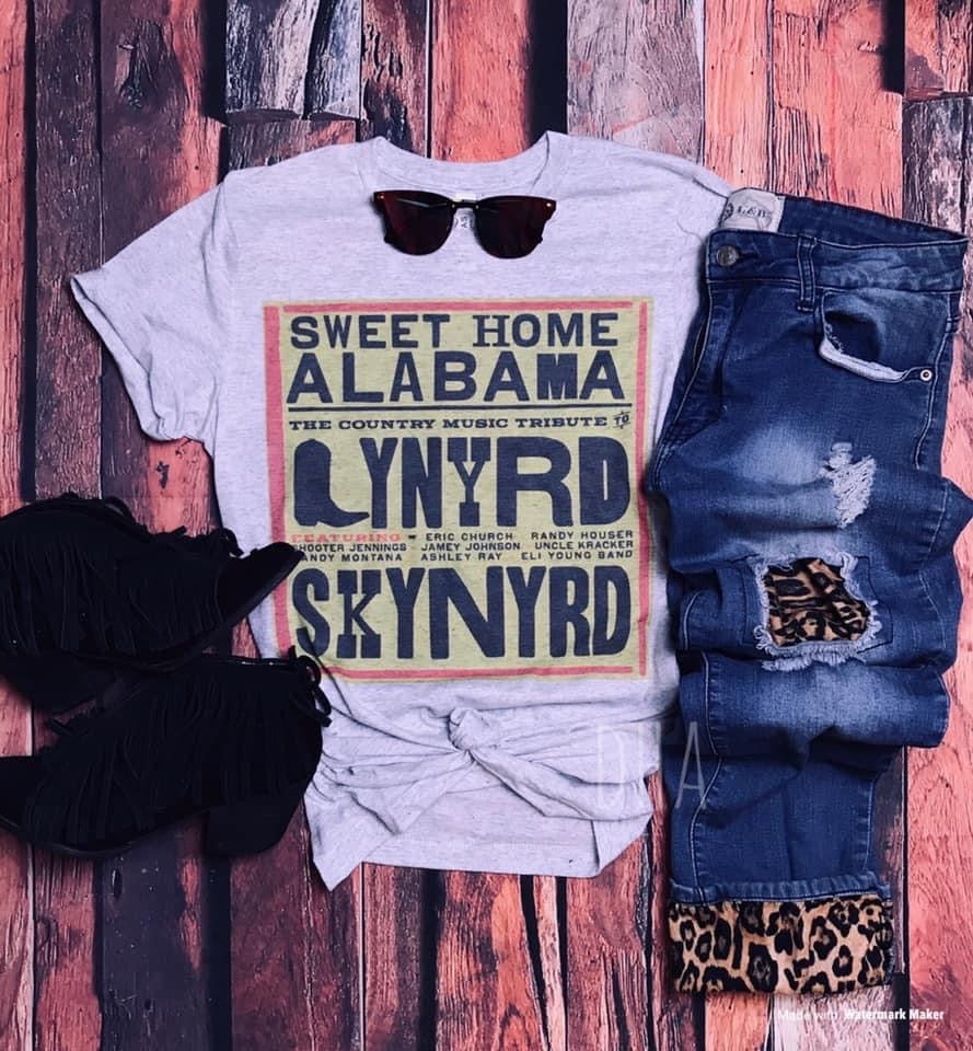 Sweet Home Alabama Graphic Tee