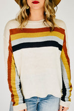 Load image into Gallery viewer, Over the rainbow Sweater-Cream