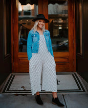 Load image into Gallery viewer, Josie Polka Dot Jumpsuit