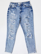 Load image into Gallery viewer, Naomi Distressed Boyfriend Jeans