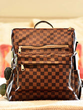 Load image into Gallery viewer, Lacey London Backpack -Brown