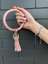 Load image into Gallery viewer, Halo Tassel Bracelet Key Ring