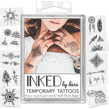 Load image into Gallery viewer, INKED by Dani- Henna Inspired Pack