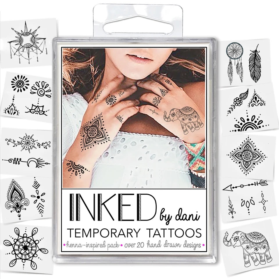 INKED by Dani- Henna Inspired Pack