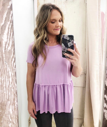 Lavender Courtney Top