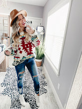Load image into Gallery viewer, Take Me Away Sweater-Ivory