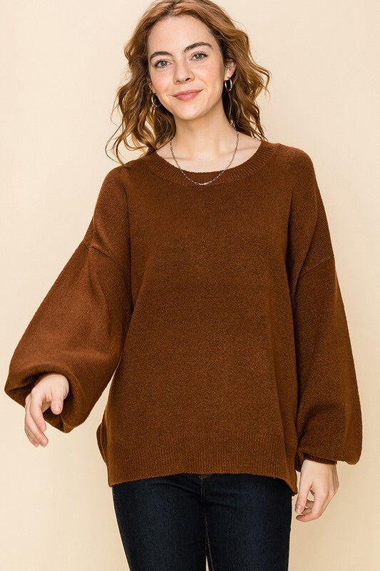 Morgan Sweater - Hazelnut