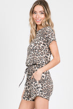 Load image into Gallery viewer, Callie Leopard Romper