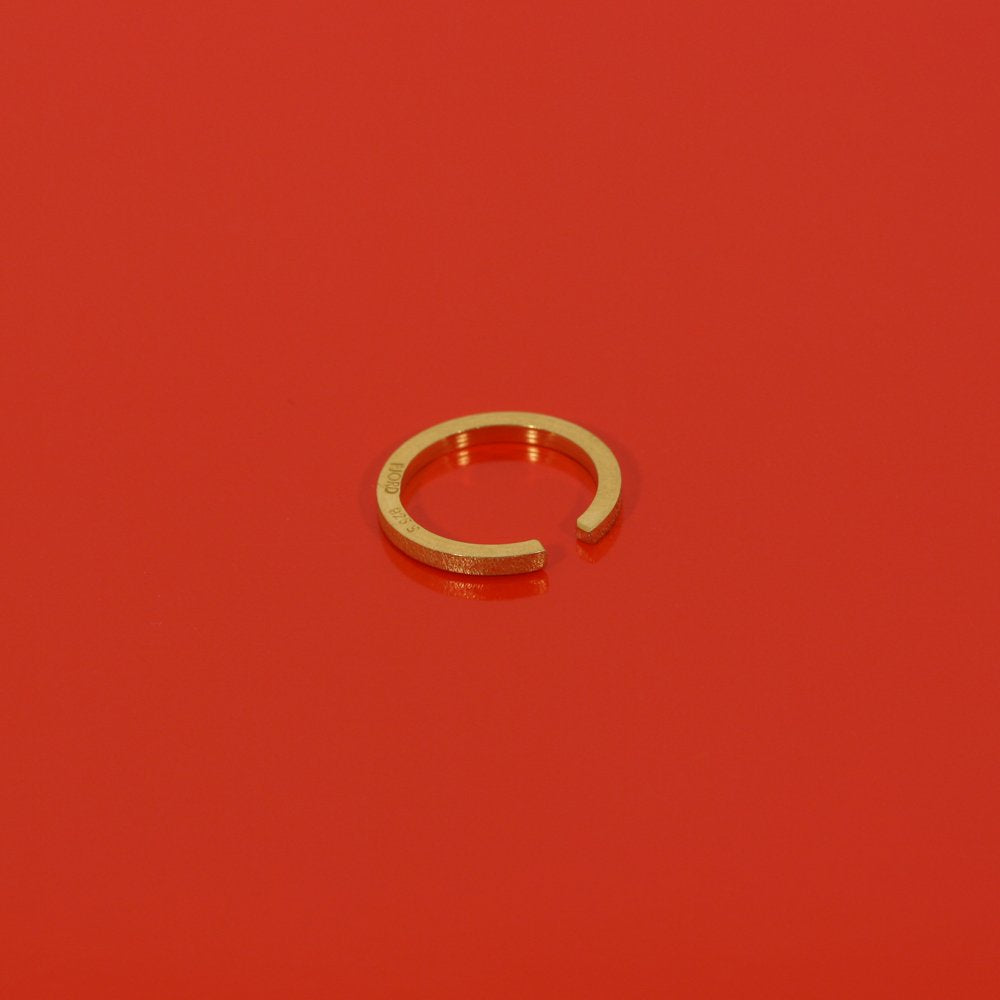 Ragnhild ring - goldplated silver