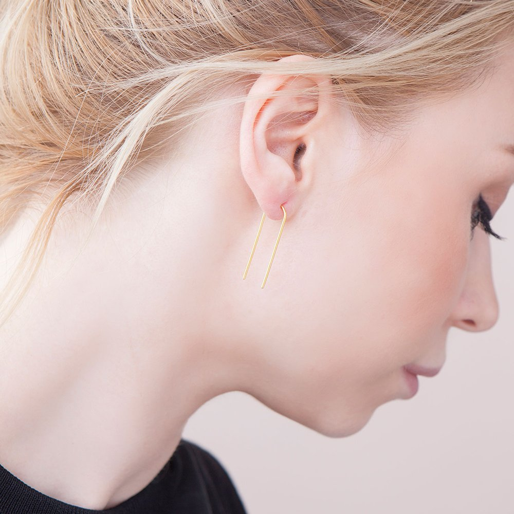 Elin earring - goldplated silver