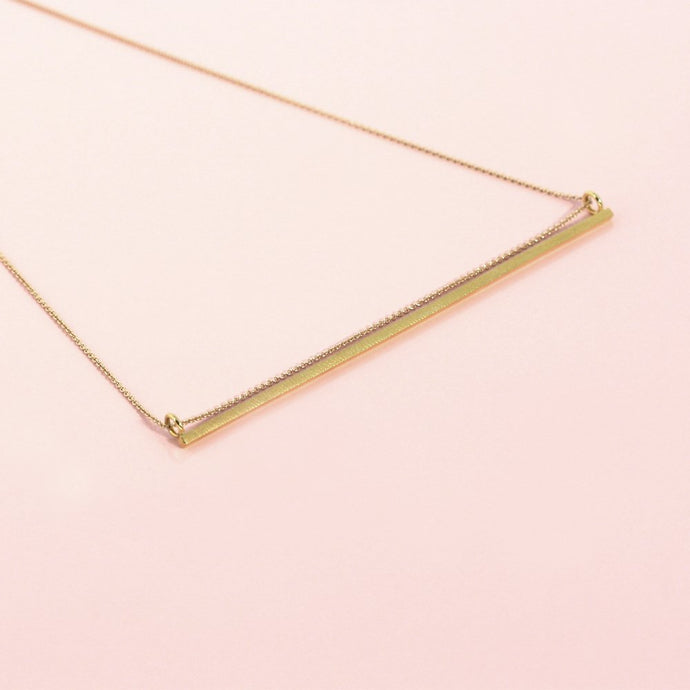 Neel pendant - goldplated silver