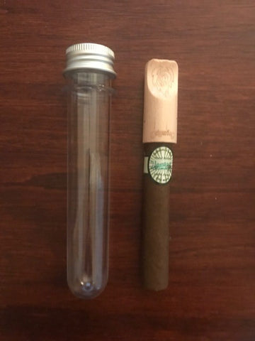 The Perla Hemp CBG Cigar with Bamboo Tip