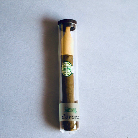 The Corona Hemp CBG Cigar with Bamboo Tip