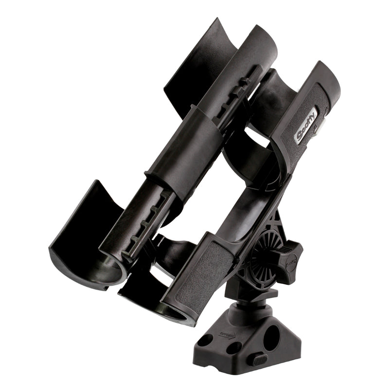 Scotty 400 Orca Rod Holder with 241 Locking Combination Side/Deck Mount