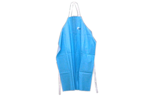 APRON: PNT BLUE  PVC  LIGHT WGT