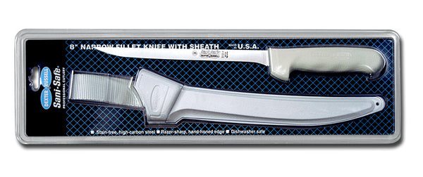 DEXTER S133-8WS1-CP FILLET KNIFE &SHEATH