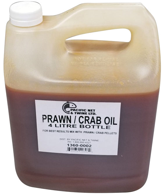 North Pacific Prawn/Crab Oil 4L Bottle