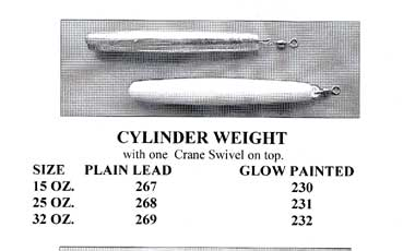 Cylinder Weight (16oz or 25oz)