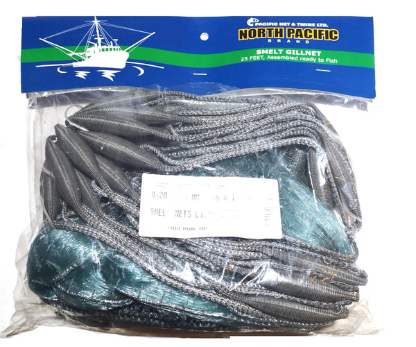 SMELT NET ON LINES  - 25' SPORT FISHING DFO Regulation Net