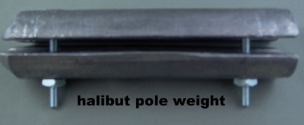 WEIGHT for BAMBOO POLE 11 LB ( 2 pieces )