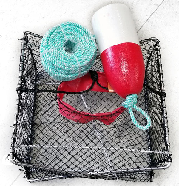 JOLLY GOOD SMALL COMBO SS TRAP KIT ROPE/FLOAT