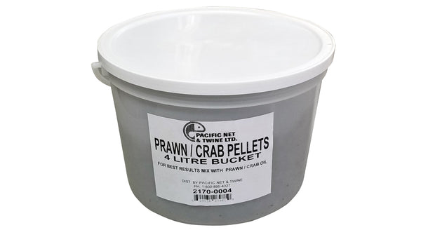 NORTH PACIFIC PRAWN PELLETS 4L BUCKET