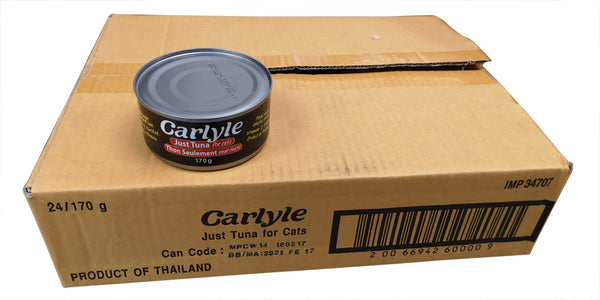 CARLYLE JUST TUNA PRAWN BAIT 170GR CASE
