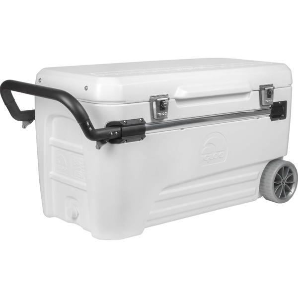 IGLOO MARINE COOLER 110 QT GLIDE WHITE P