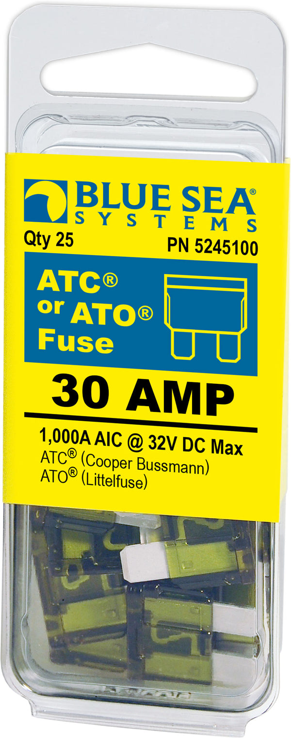 BLUE SEA 5245100 FUSES 30 AMP (25)