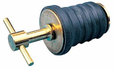 SEADOG 520080-1 BRASS T-HANDLE DRAIN PLUG