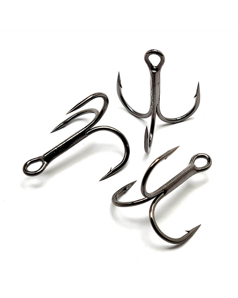 Gamakatsu Round Bend Treble Hooks 2X Strong