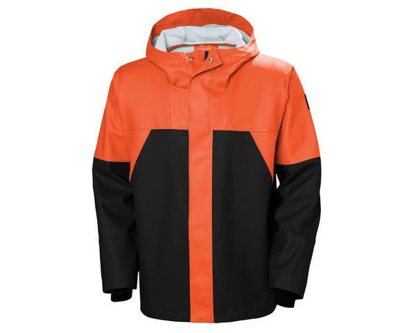 Helly Hansen Storm Rain Jacket 299 Dark Orange/Black