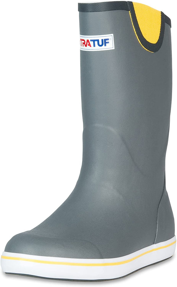 "XTRATUF 12"" ANKLE BOOT MEN'S GREY"