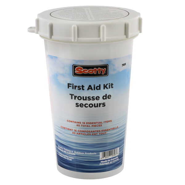 SCOTTY 789 WATERTIGHT FIRST AID KIT