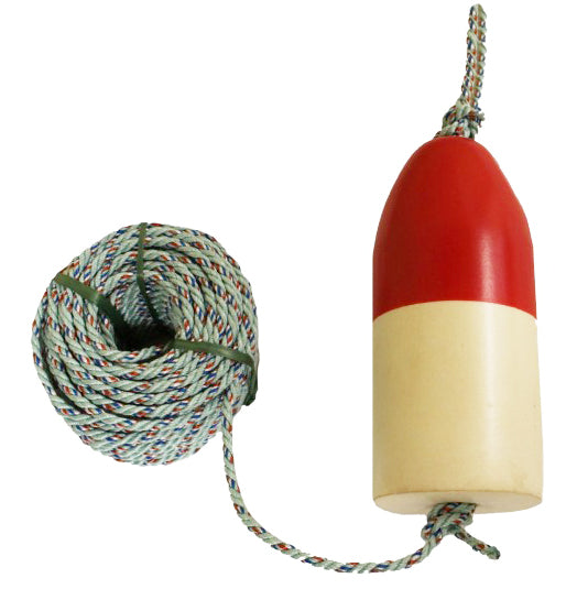 "5x11 Red/White Float with 5/16"" Danline Rope"