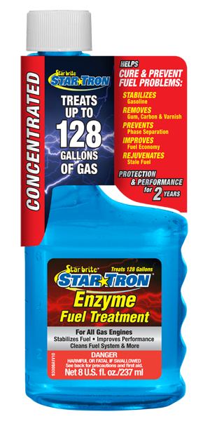 STARBRITE Star Tron Enzyme Fuel Treatment - Concentrated Gas Formula 8oz