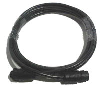 LOWRANCE XT-10BLK 9-PIN TRANSDUCER EXTENSION CABLE 10FT