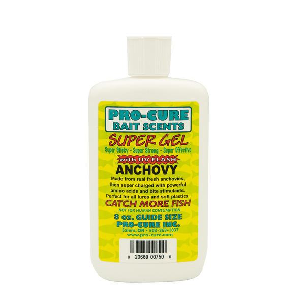 PRO CURE ANCHOVY SUPER GEL 8 OZ