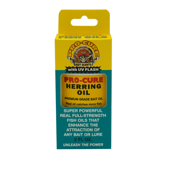 PRO CURE HERRING BAIT OIL 2OZ