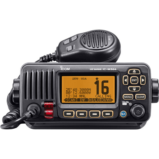 ICOM M324 VHF RADIO BLACK