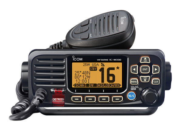ICOM M330 VHF RADIO BLACK