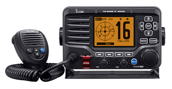 ICOM M506-21 VHF RADIO WITH AIS BLACK