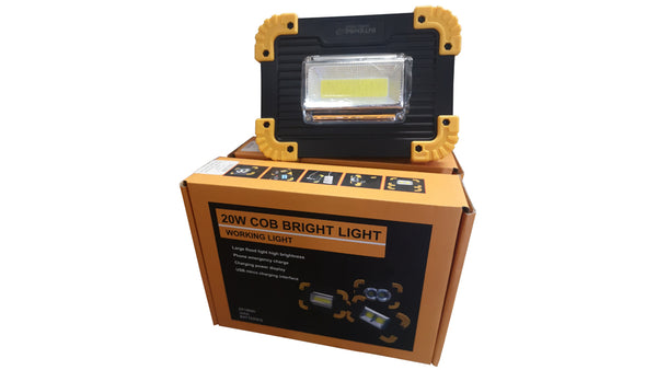 Intense 20w Cob Bright Light
