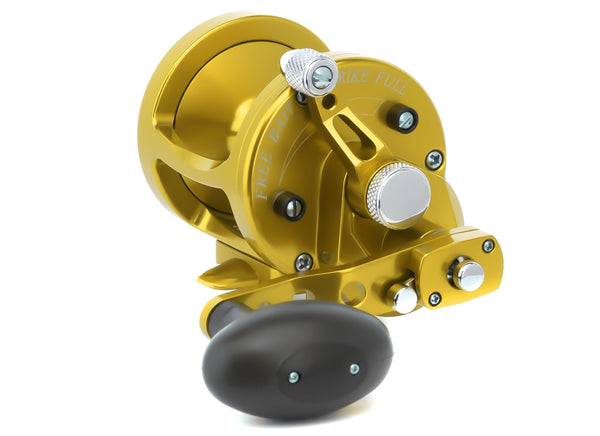 AVET MXL6/4 TWO SPEED REEL GOLD