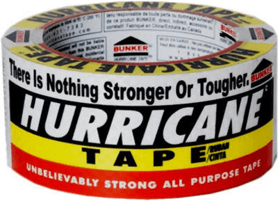 HURRICANE TAPE 2in X 20 YDS