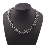 Crownsnake Barbed wire necklace