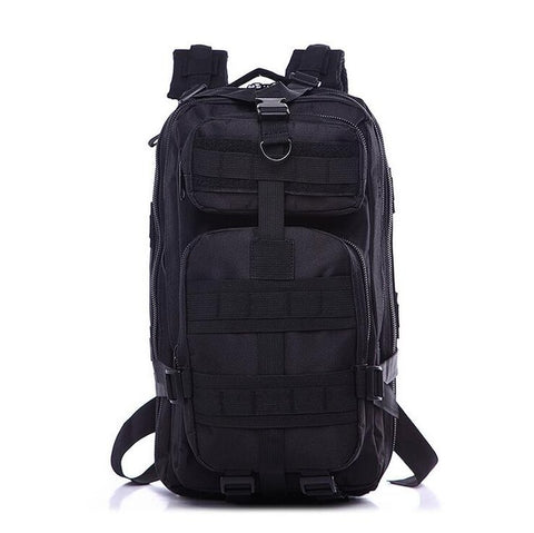 Crownsnake Allblack Techwear Backpack