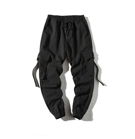 Straped pockets cargo pants